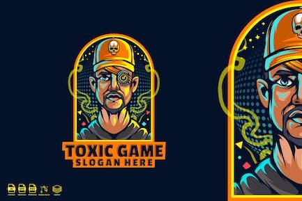 Toxic game logo