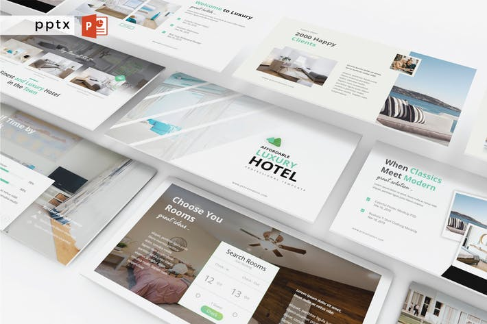 Thumbnail for LUXURY HOTEL - Powerpoint V335