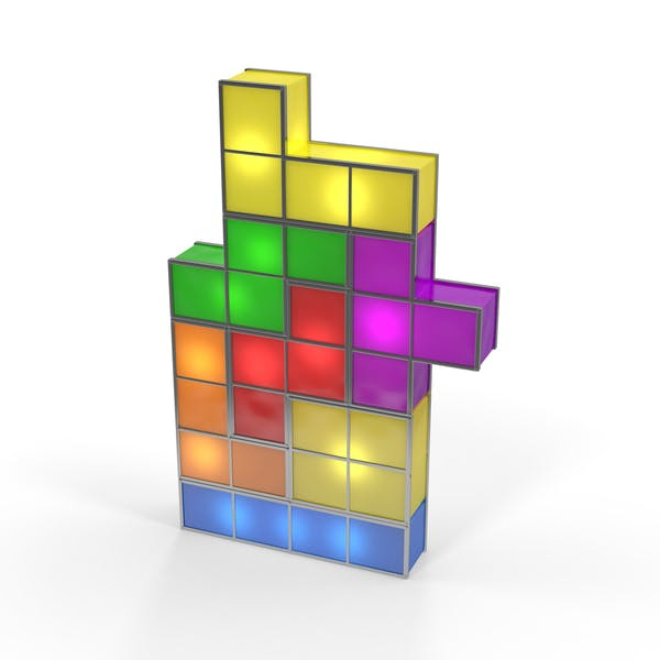 Thumbnail for Tetris Lamp