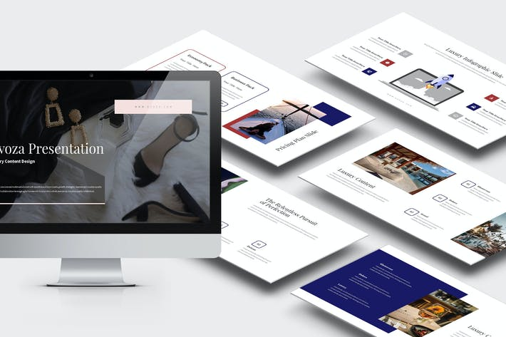 Thumbnail for Evoza : Luxury Lifestyle Powerpoint