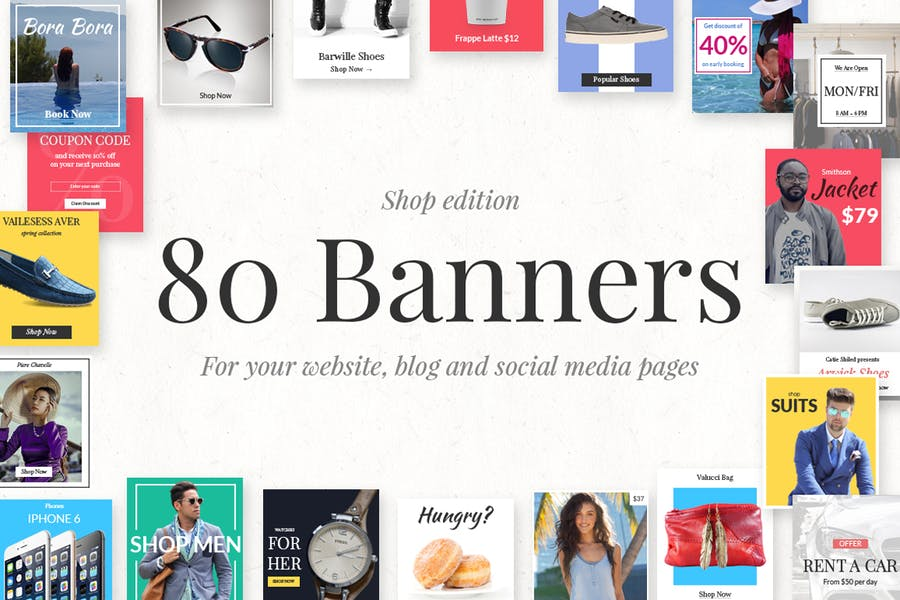 80 Banners - Shop Edition