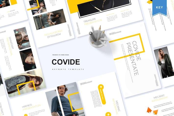 Thumbnail for Covide | Keynote Template