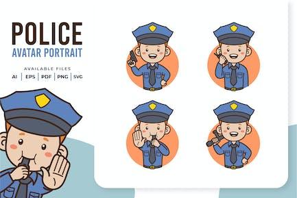Police - Avatar Portrait