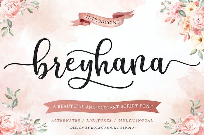 Thumbnail for Breyhana - Fuente de guión romántico