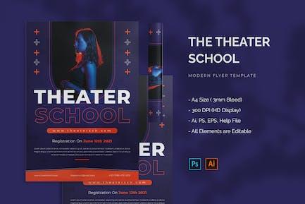 Theater School - Flyer