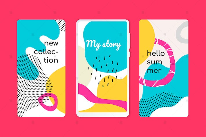 Thumbnail for Hello summer onboarding screens