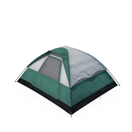Camping Zelt geschlossen