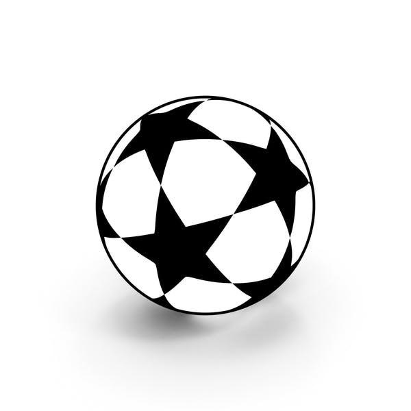 Soccer Ball Scheme Cartoon