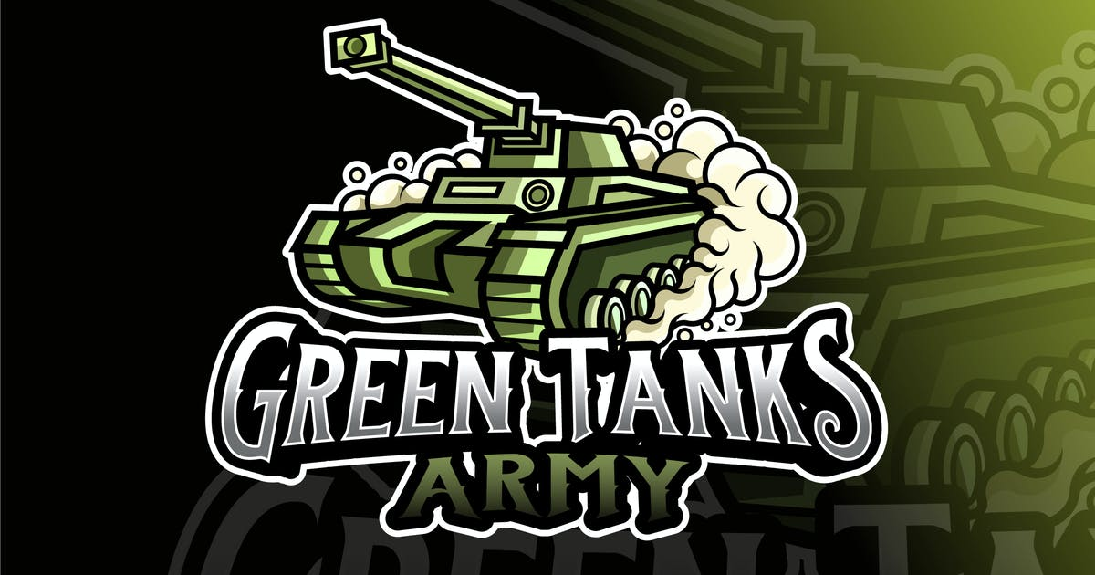 Download Green Tank Army Logo Template by IanMikraz