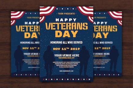 US Veterans Day Flyer