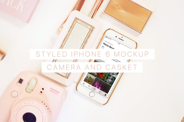Thumbnail for Styled iPhone 6 Mockup