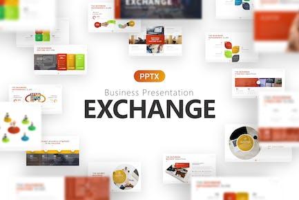 Exchange Business Presentation Template