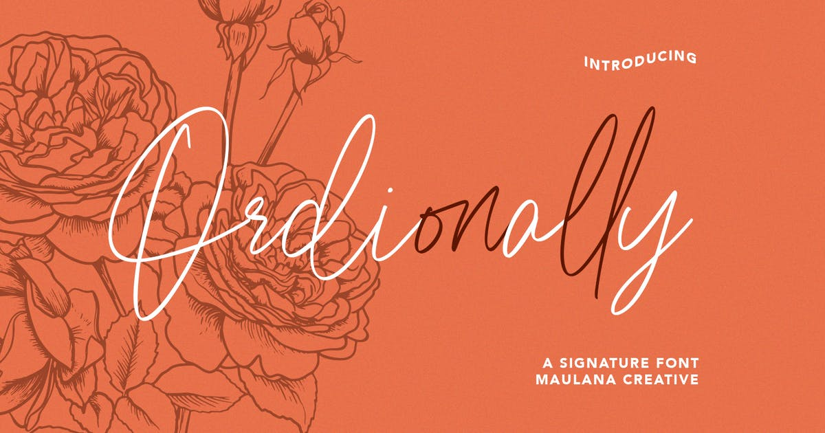 Download Ordionally Signature Font by maulanacreative