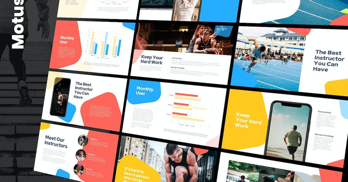 Download Motus - Multipurpose Powerpoint Template by Slidehack