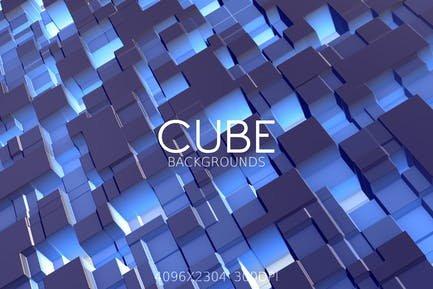Cube Abstract Backgrounds