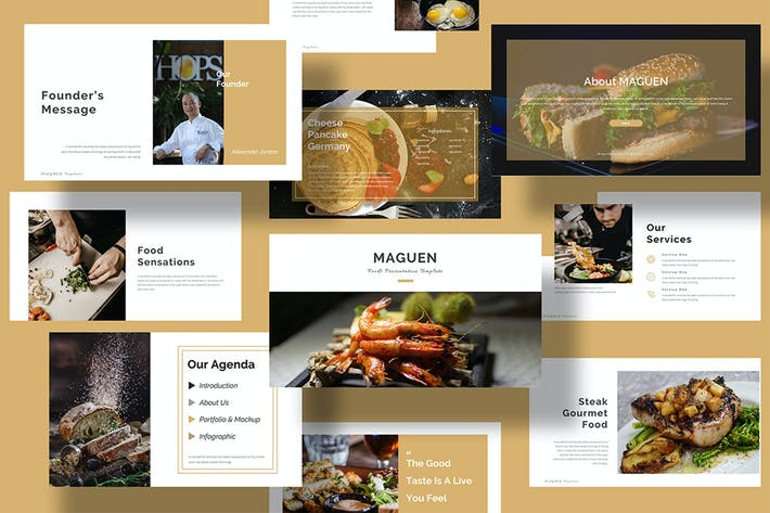 Thumbnail for Maguen - Food PowerPoint Presentation