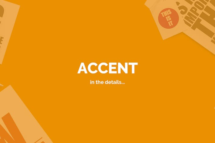 Thumbnail for Accent — Creative Responsive WordPress Theme