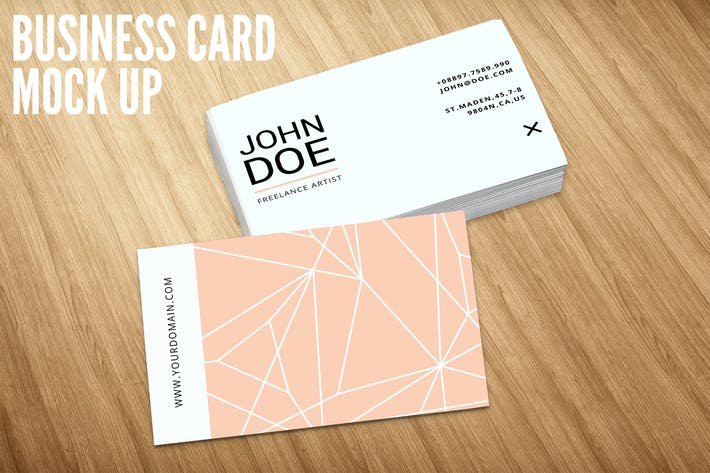 Cover Image For Business Card Mock Up Vol. 03