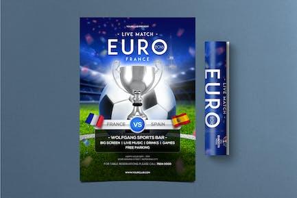 Football Cup Flyer