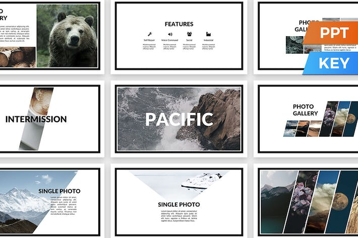 Thumbnail for Pacific Presentation Template