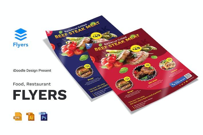 Thumbnail for Essen, Restaurant Flyer