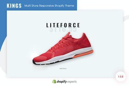 KINGS | Multitienda Responsive Shopify Tema
