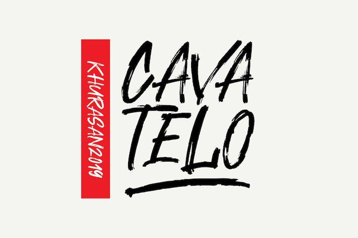 Thumbnail for Cavatelo Font