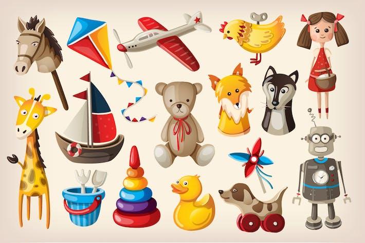 Thumbnail for Vintage Spielzeug und Puppen