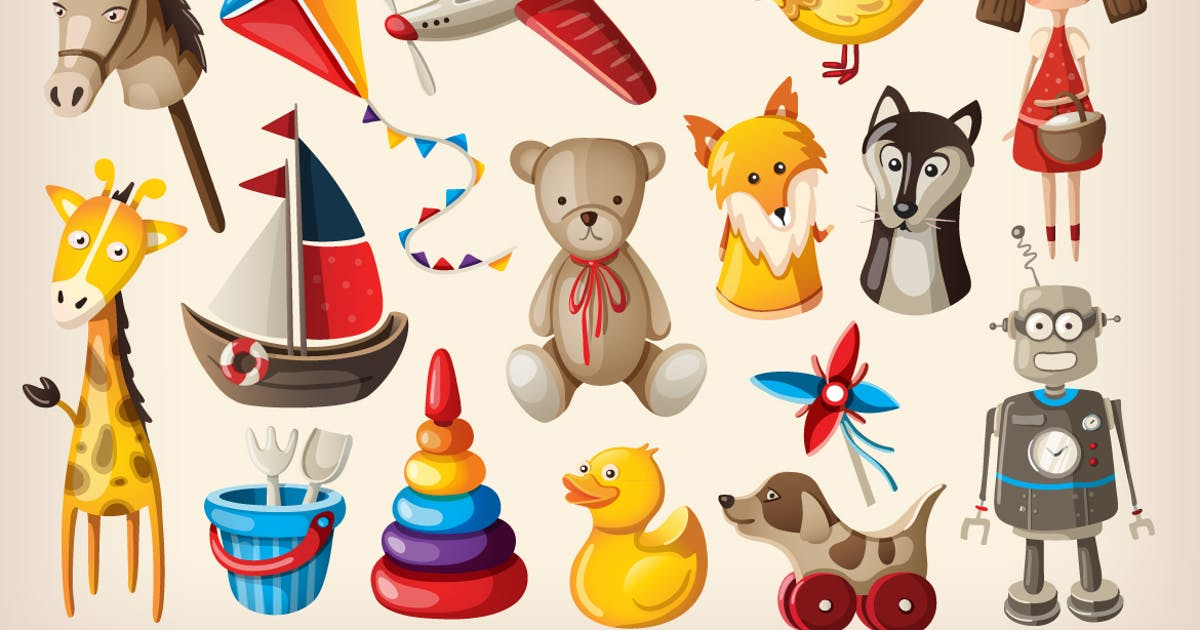 Download Vintage Toys and Dolls by moonery