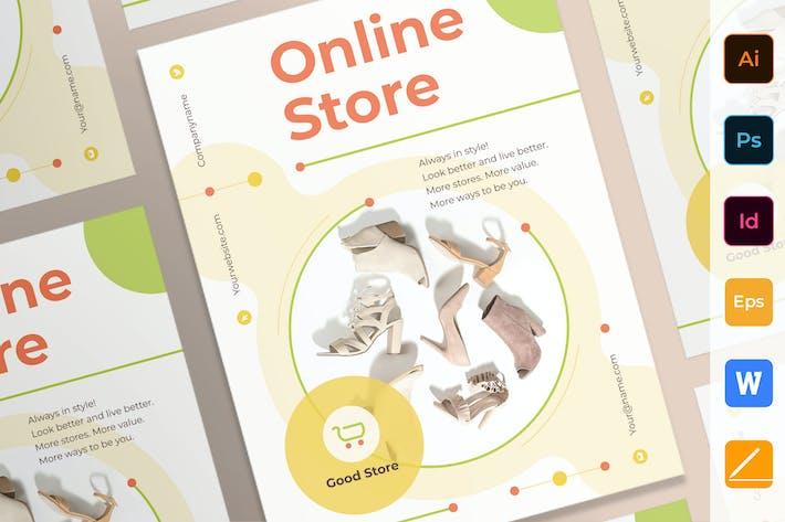 Thumbnail for Online Store Poster