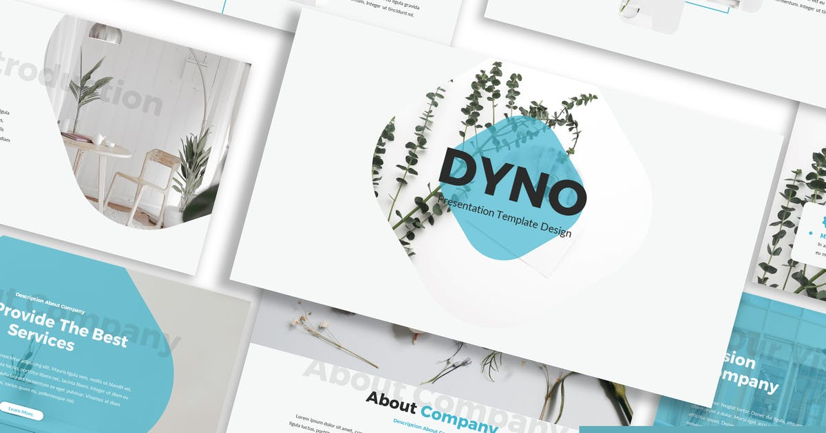 Download Dyno - Business Google Slide Template by Blesstudio