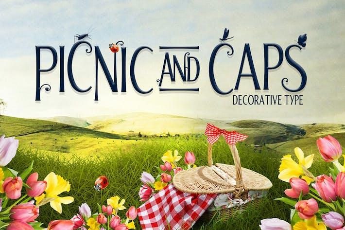 Thumbnail for Fuente de tapas de picnic