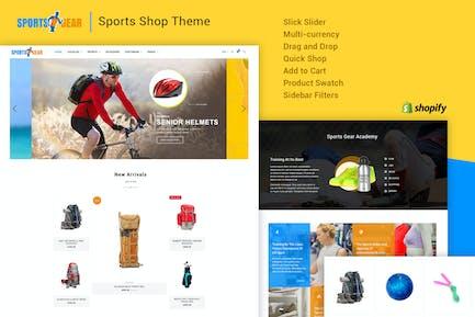 Sports Gear - Sports Shop Shopify Theme