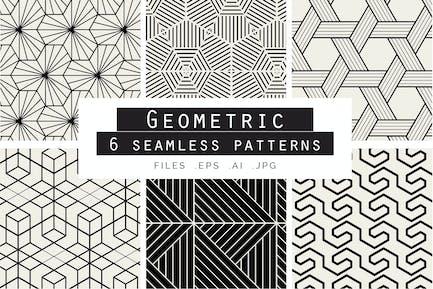 Geometrische nahtlose Vektor muster