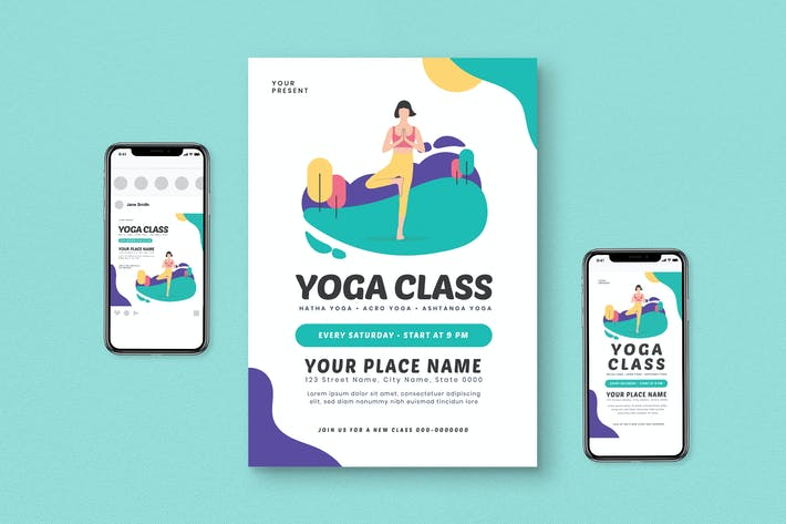 Thumbnail for Yoga Flyer Pack