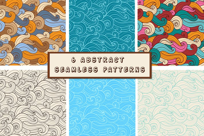 Thumbnail for Abstract Seamless Patterns