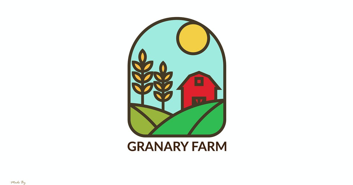 Download Granary Farm - logo Template by Rometheme