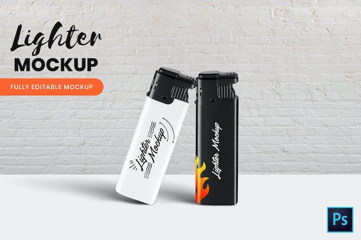 Thumbnail for Lighter Mockup