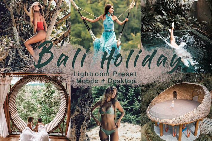 Thumbnail for BALI HOLIDAY - Lightroom Preset | Mobile+Desktop