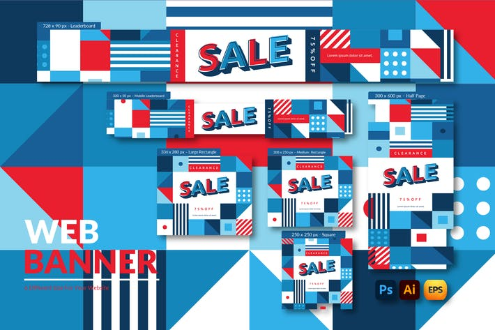 Clearance Sale | Web Banner