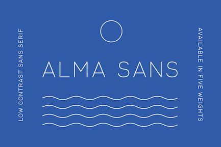 Alma Sans