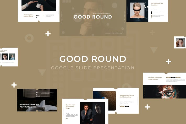 Cover Image For Good Round - Google Slide Template