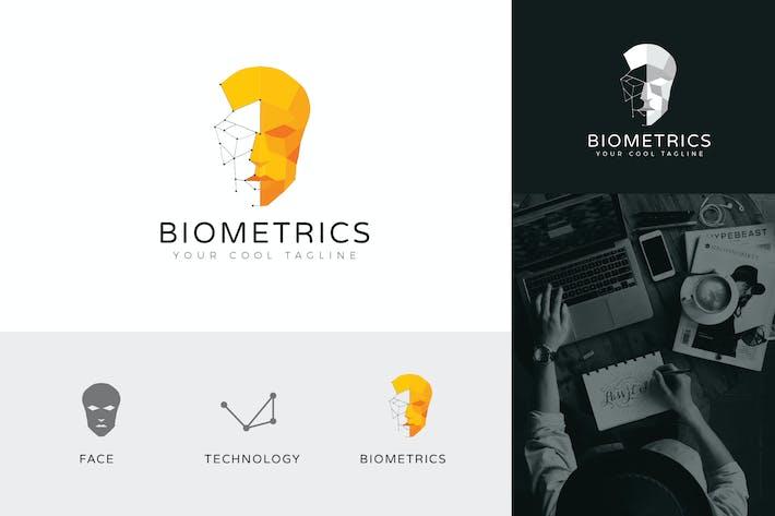 Biometrics Technology Logo Vector Template
