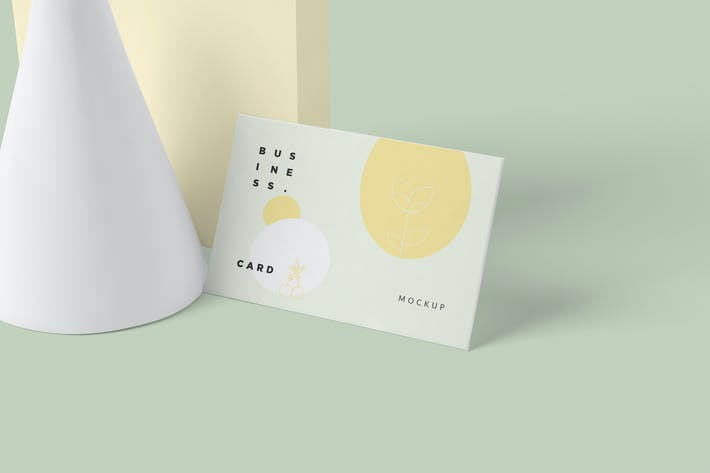 Thumbnail for Corporate Business Card Mockups