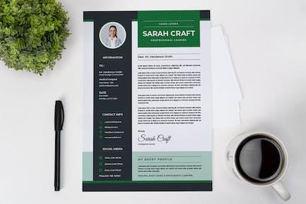 Professional Cashier CV Resume