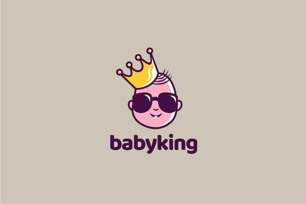 Baby King Logo