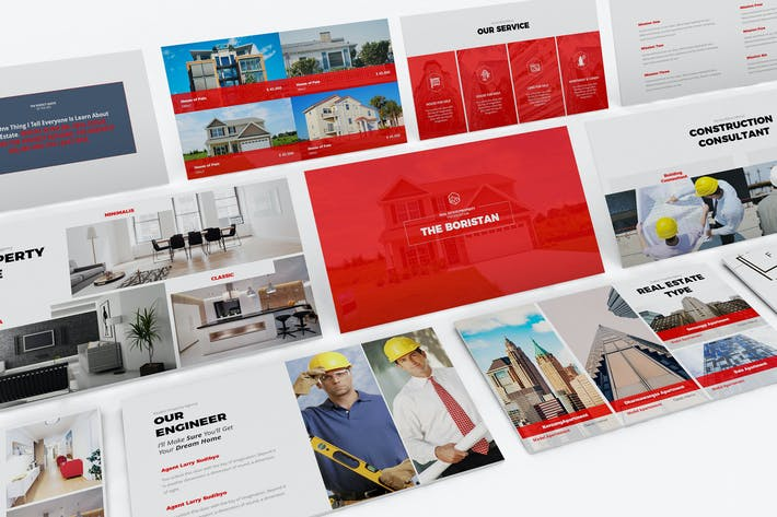 Thumbnail for Real Estate Powerpoint Template