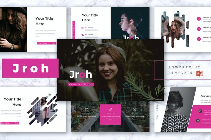 Thumbnail for JROH - Creative Powerpoint Template
