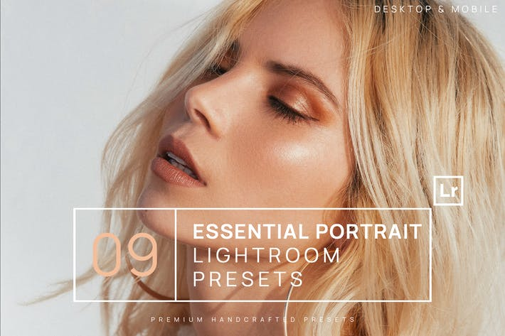 Thumbnail for 9 Essential Portrait Lightroom Presets + Mobile