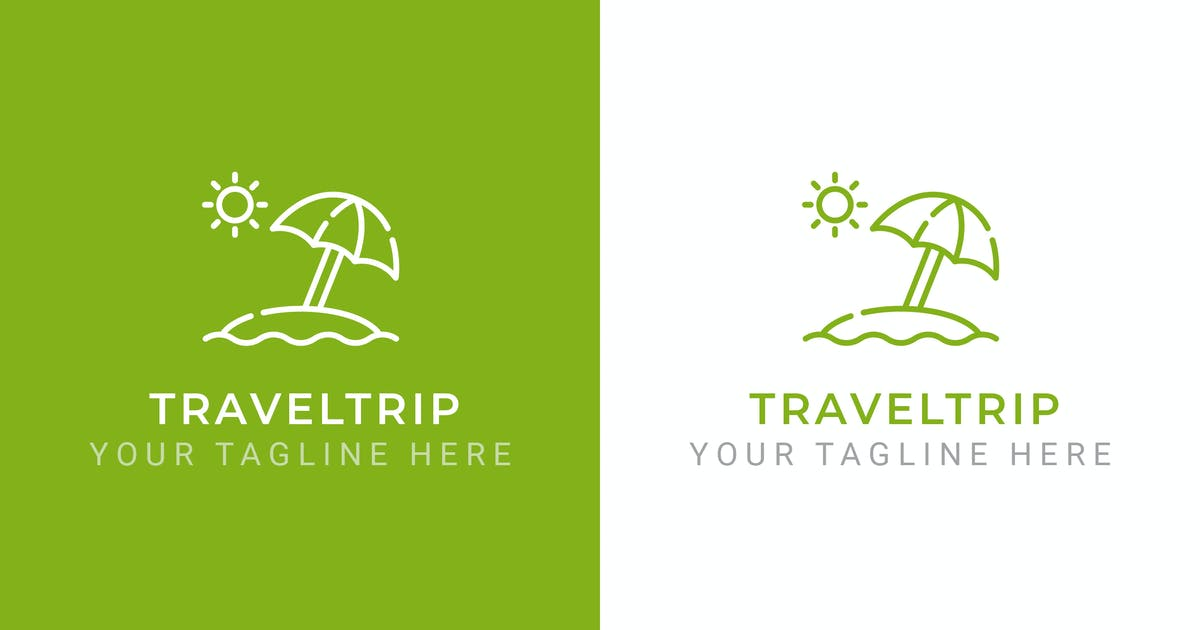 Download TravelTrip - Traveling Logo Template by ThemeWisdom